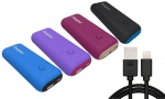 Energizer 5000mAh Power Bank with 1m GVC Iphone cable